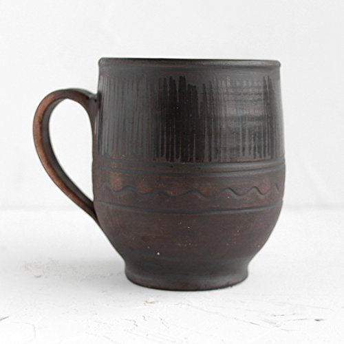 Ceramic coffee mug Rustic Pottery cup Handmade ceramic Eco friendly Drinkware Stoneware tasses