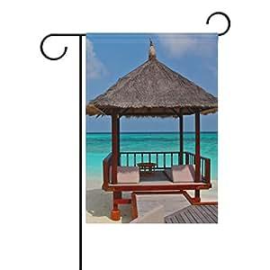 wihve cabina de playa agua de mar azul cielo