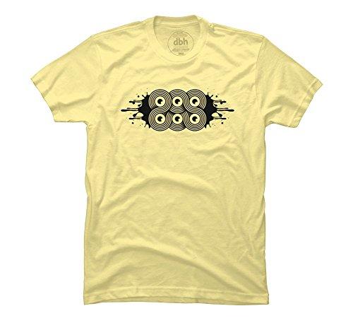 6eyes Men's 3X-Large Banana Cream Graphic T Shirt - Design By Humans