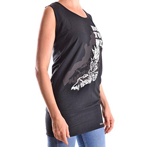 Camiseta Sin Mangas Galliano negro