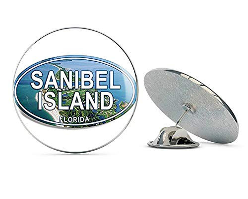 NYC Jewelers Oval Sanibel Island (Florida fl Island Cape) Metal 0.75