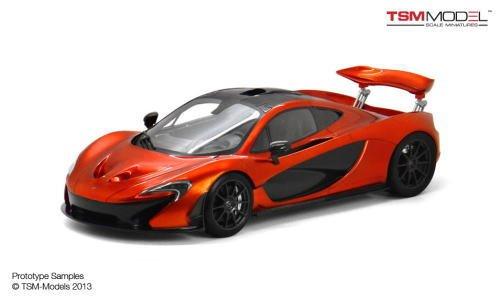 1/18 マクラーレン P1 (ヴォルケーノオレンジ) 香港限定 TSM151824の商品画像