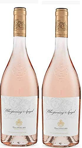 Whispering Angel Cotes De Provence Rose 2019, 75 cl Award Winning Rosé Wine – Box of 2 bottles.