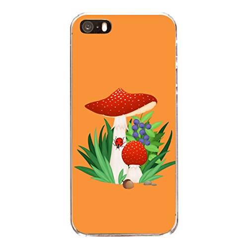 """Disagu SF-sdi-3796_1197#zub_cc4079 Design Schutzhülle für Apple iPhone 5 - Motiv """"Fliegenpilz 04"""""""