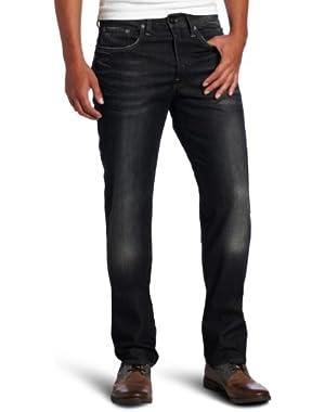 Men's 3301 Straight Leg Jean in Dark Aged