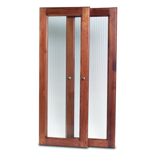 John Louis Home JLH-535 Deluxe Door Kit, Red Mahogany - John Louis Home Deluxe Tower