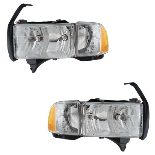 01 dodge ram 1500 head lamp - 7
