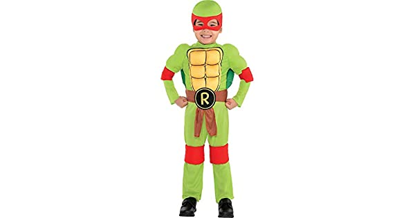 Amazon.com: teenage mutant ninja turtles Raphael disfraz ...