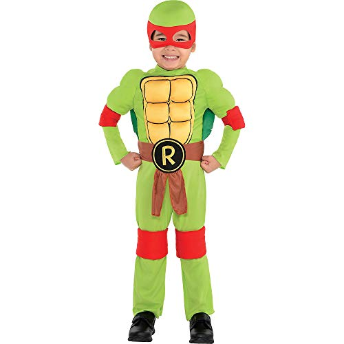 Teenage Mutant Ninja Turtles Raphael Costume Toddler (3-4)]()