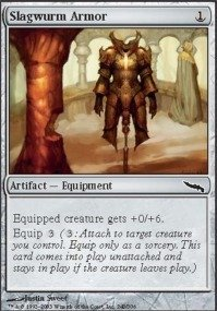 Magic: the Gathering - Slagwurm Armor - Mirrodin