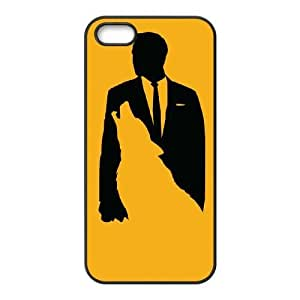 iPhone 5,5S Phone Case Black Wolf Of Wall Street HUX324476