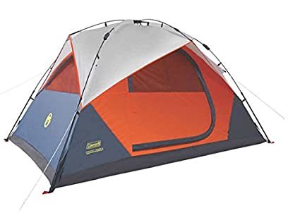 Coleman Instant Dome 5 Person Tent with Integrated Rainfly  sc 1 st  Amazon.com : coleman instant tent 5 - memphite.com