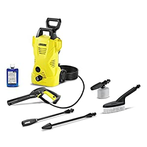 Karcher K2 Car Care Kit Electric Power Pressure Washer, 1600 PSI, 1.25 GPM