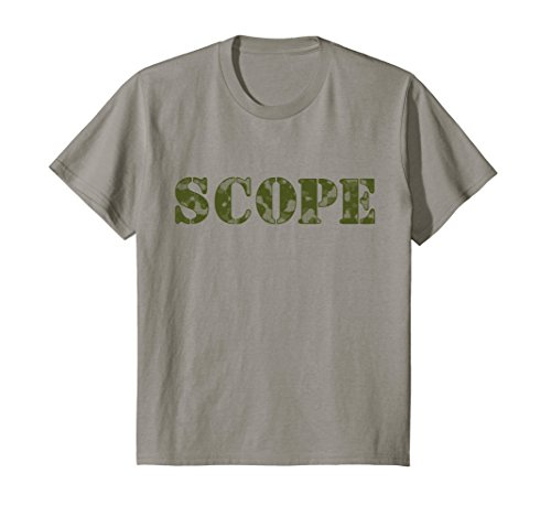 Price comparison product image Kids Camo SCOPE T-shirt in multiple colors and camoflauge 8 Slate