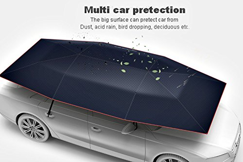 Car Cover Tent : Car tent automatic folded portable automobile protection