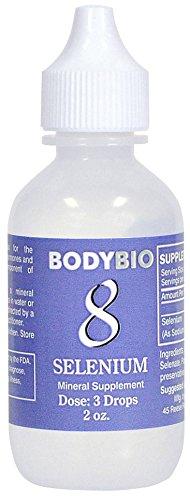 BodyBio - Selenium #8 Liquid Mineral, 2oz