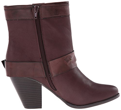 Dolce Door Mojo Moxy Blackjack Black Boots Bordeaux Voor Dames