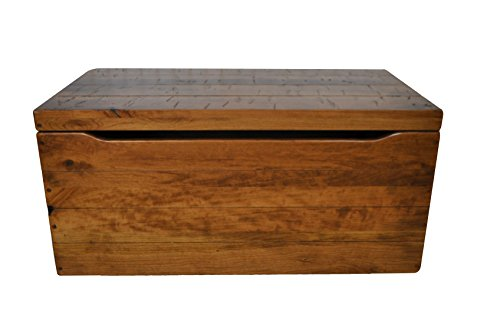 (Rustic Toy Chest, Hope Chest, Cedar Bottom, Rustic Cherry Wood, Fruitwood Stain (30