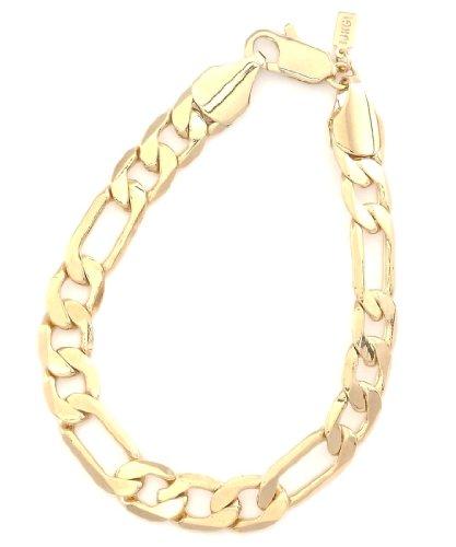 9 Inch Figaro Bracelet - 1