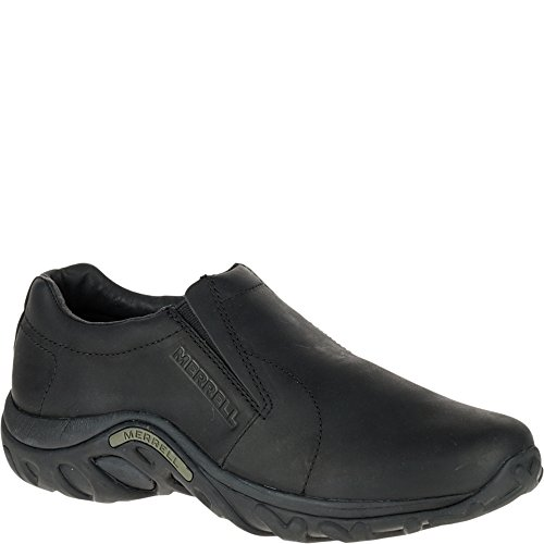 Merrell Men's Jungle Moc Leather Slip-On Shoe,Midnight Slip-On Shoe,15 M US J60889