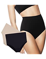 High-Waist Tummy Control Slim Panties by Zlimmy (2-Pack)