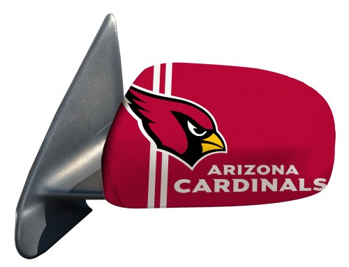 Fanmats NFL Arizona Cardinals Polyester Mirror Cover-Small (Mirror Cardinal)