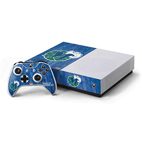 Skinit Dallas Mavericks Xbox One S All-Digital Edition Bundle Skin - Officially Licensed NBA Gaming Decal - Ultra Thin, Lightweight Vinyl Decal Protection