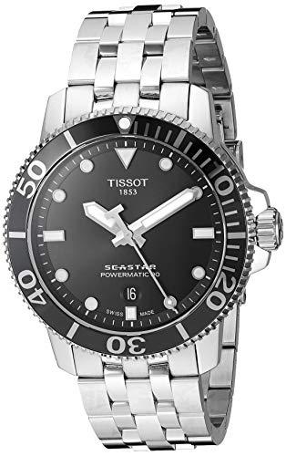 Tissot Men's Seastar 1000 Powermatic 80 - T1204071105100 Grey One...