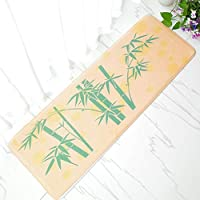 2018 Bedside Flannel Rug Home Decoration Anti-slip Sofa Coffee Table Floor Mat Kitchen Eco-friend Water/Oil-absorbent Dirty Door Mat Beautiful Printed
