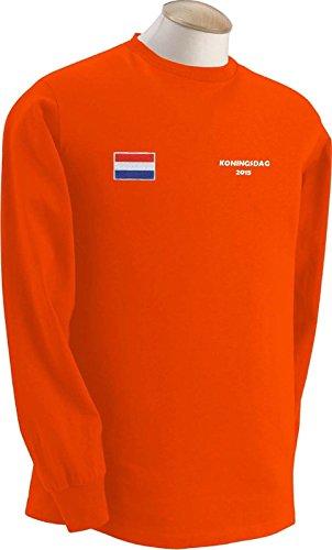 Camiseta Souvenir Holanda D?a del Rey Koningsdag - Todas las Tallas