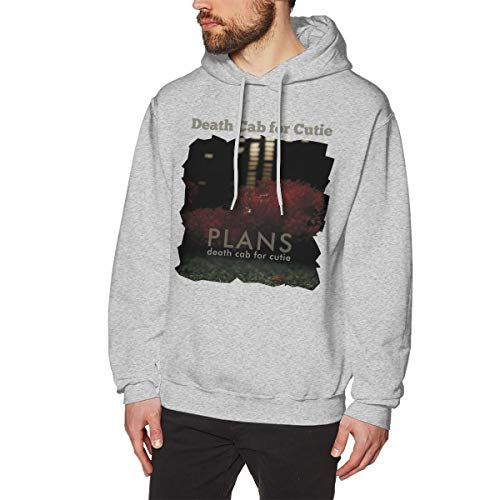 Days Classic Baseball Black Death Cab for Cutie Plans HoodieGray M