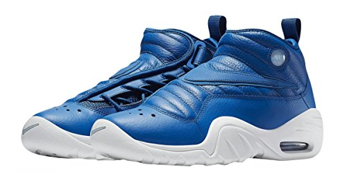 Image of NIKE Men's Air Shake Ndestrukt Blue Jay/Blue Jay-Summit White 880869-401 Shoe