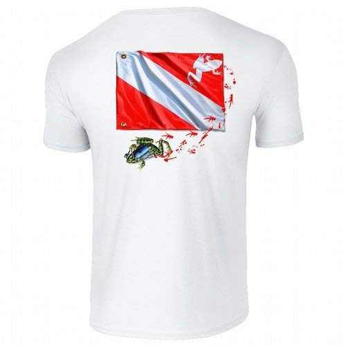 Amphibious Outfitters T-Shirt - Frog Flag - Scuba Diving