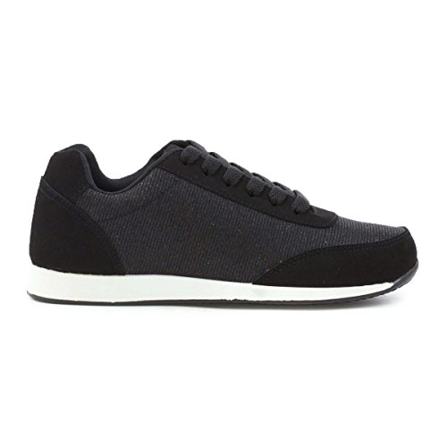 Memory Foam Black Trainer Lilley Lace up Womens Black pq6ExE