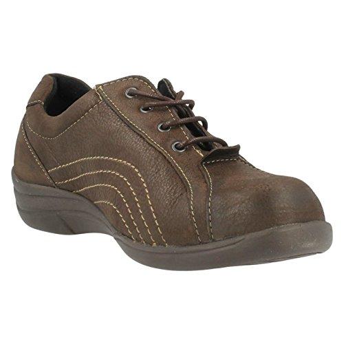 Pour B Lacets Melina Large Easy Ouverture À Chaussures Marron TtwdqcgxO