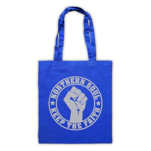 Keep The Royal Bag Tote Blue Faith Soul Northern zw6aqC8