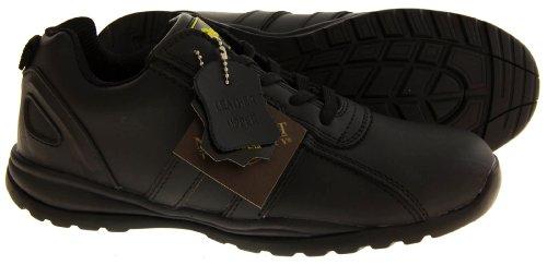 Footwear Studio, Stivali uomo In Pelle Nera