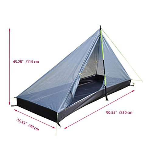 Survivalist Ultralight Pyramid Tents Camping Tent Solo