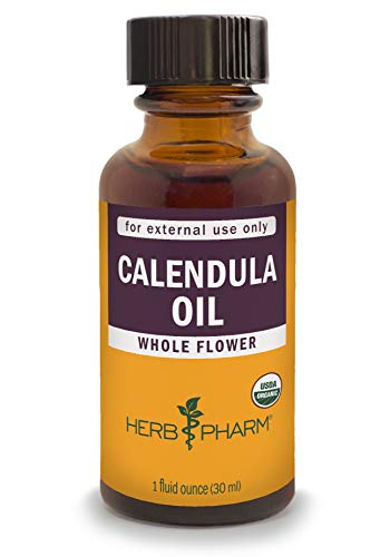 - Herb Pharm Certified Organic Calendula Oil - 1 Ounce