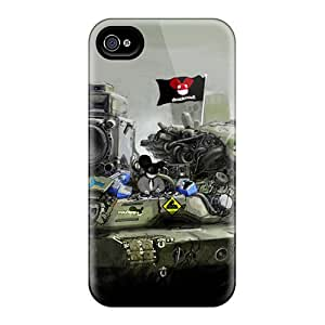 High Quality Shock Absorbing Case For Iphone 4/4s-awesome Deadmau5