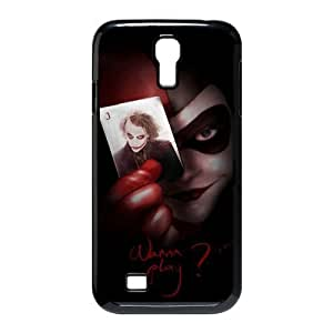 Personalized design Classic Harley Quinn with the Joker in the Card SamSung Galaxy S4 I9500 Case Cover