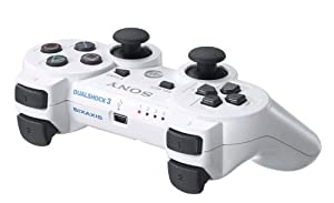 Sony PlayStation 3 Dualshock 3 Wireless Controller - White