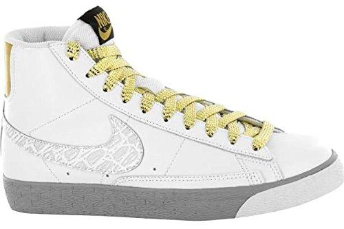 Nike Gold Blazers (NIKE Women's Blazer High Athletic Fashion Sneakers Shoes (12 B(M) US))