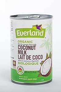 Everland Organic Coconut Milk, 400ml
