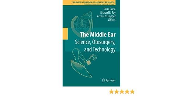 the middle ear popper arthur n fay richard r puria sunil
