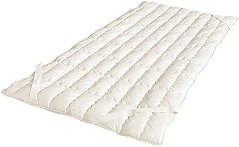Öko Planet cubrecama de algodón orgánico, tela, Naturweiß, 100 x 200 cm: Amazon.es: Hogar