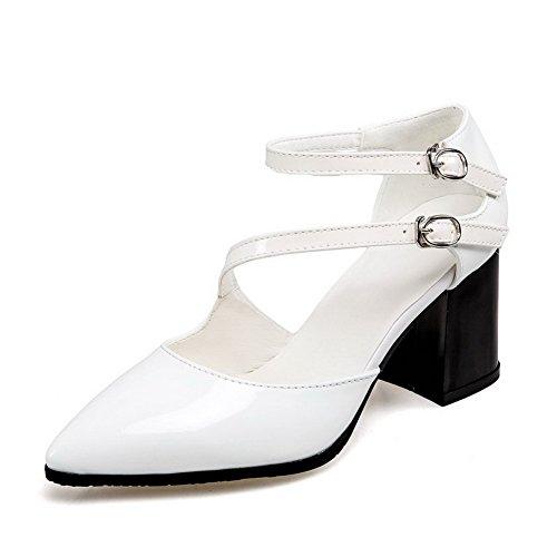 Compensées BalaMasa Femme Sandales ASL05352 Blanc EHq7HFB