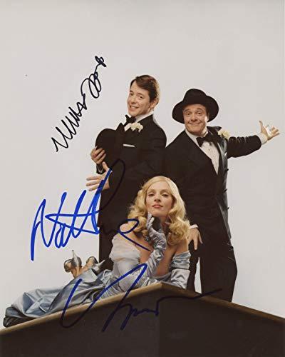Nathan Lane, Matthew Broderick & Uma Thurman