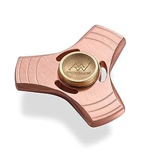 Amazon.com: VICTOREM EDC Hand Spinner Metal Fidget ADHD Focus Toy