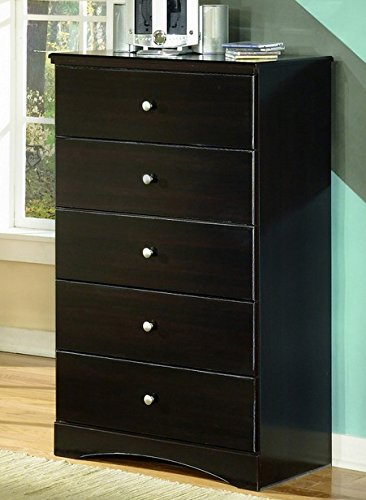 Ashley Furniture Signature Design - Embrace Chest of Drawers - Classic Style Dresser - 5 Drawer - (Classic Style Dresser)